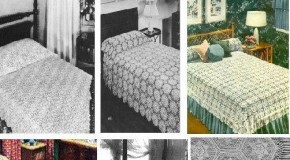 31 Vintage Bedspread Patterns to Crochet
