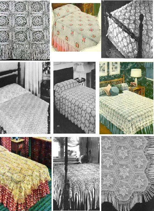 Vintage Bedspread Patterns to Crochet