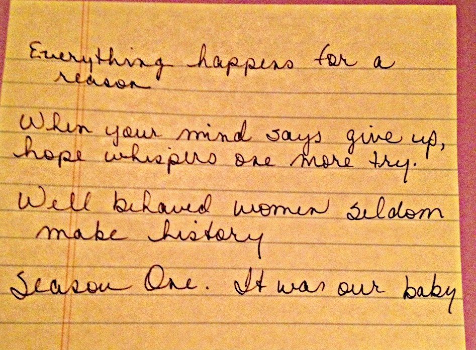 20. Handwriting: A Few of My Favorite Tweets #FebPhotoADay