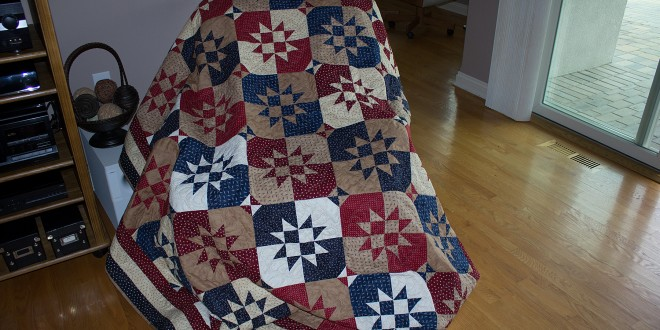 Quilt of Valor 2014 – Disappearing Hourglass