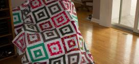 Striped Squares by Moda