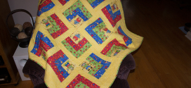 Topsy Turvy Baby Quilt