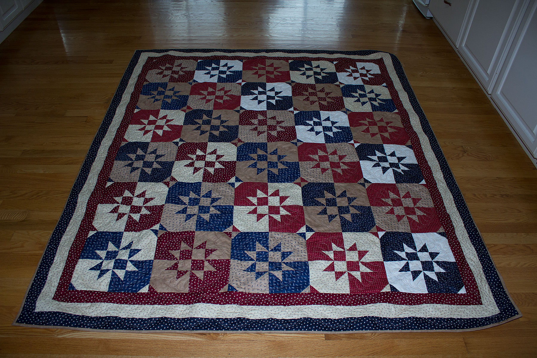 Quilt Patterns For Quilts Of Valor : Quilt of Valor Disappearing Hour Glass Hobby Stash