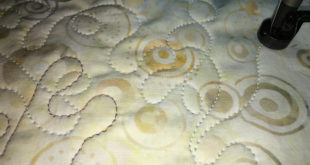 top thread quilting