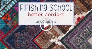 Finishing School Better Borders with Winnie Fleming