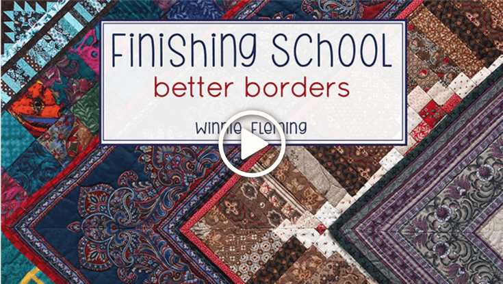 Finishing School Better Borders with Winnie Fleming